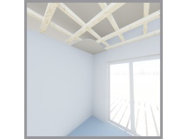 Kit cielo madera Magallanes 48m²